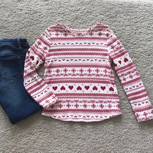 👫Old Navy Girls Waffle Knit Top